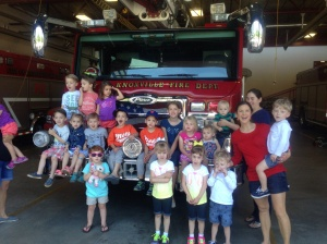 Fire Station Visit 2015